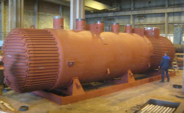 Газотрубный котёл-утилитизатор