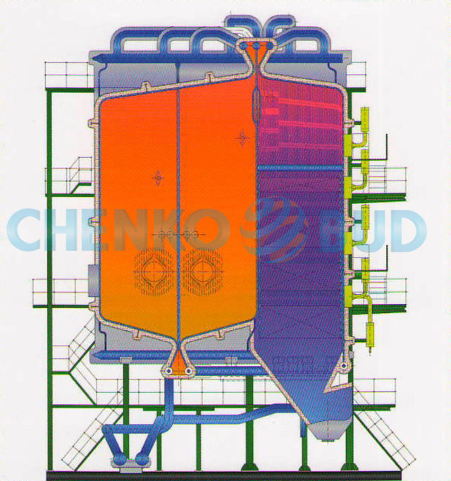 Котёл водогрейный типов КВ-ГМ-116,3-150-1 и КВ-ГМ-116,3-150-С