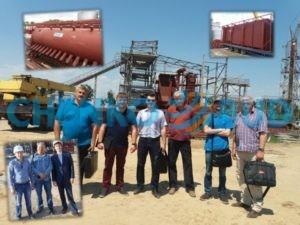 Специалисты ЧЕНКО-БУД на Энергетическом комплексе в г. Никополь