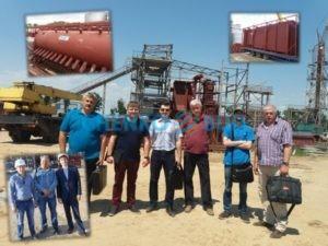 Специалисты ЧЕНКО-БУД на Энергетическом комплексе в Никополе