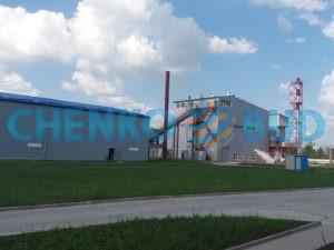 Новое строительство «Энергетический комплекс по выработке электроэнергии на биотопливе 6 МВт».