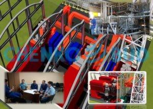 Техническое переоснащение котельной ЧАО «АДМ Ильичевск» с заменой оборудования очистки дымовых газов