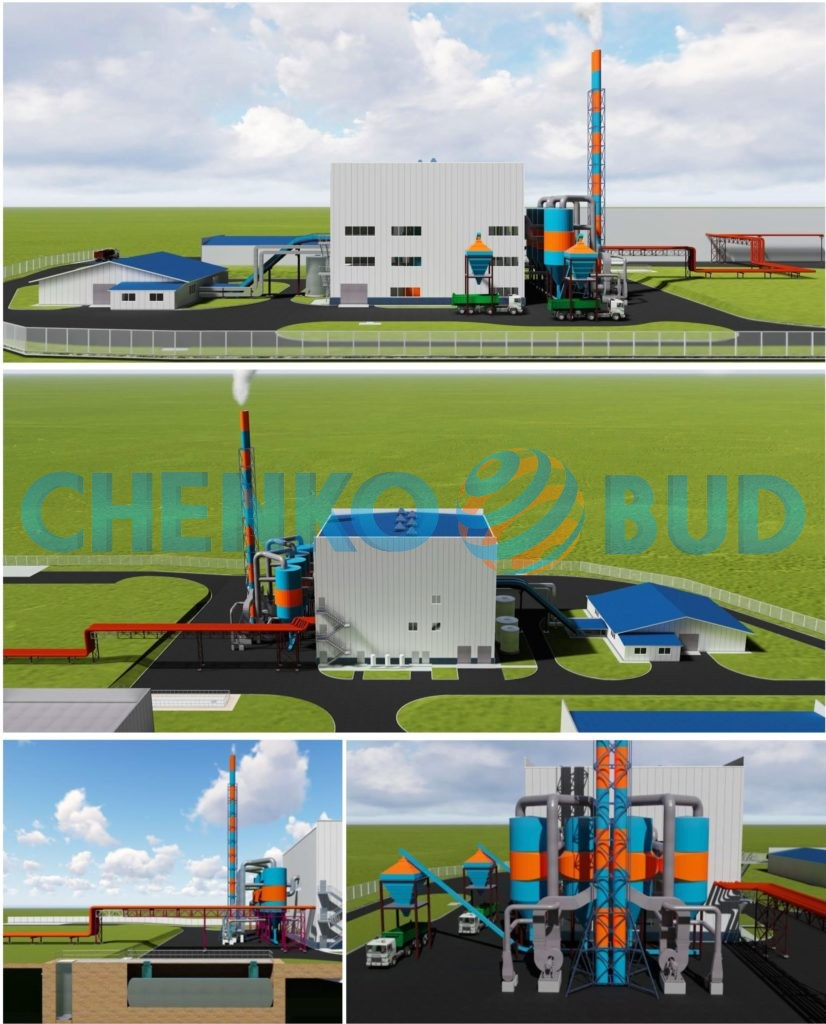 Новое строительство котельной на твердом топливе ЧАО «Мироновская птицефабрика» (МХП)