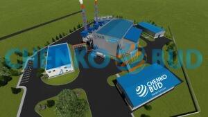 Энергетический комплекс по выработке электроэнергии 12 МВт для ООО «Винницкая птицефабрика»